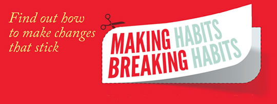 Post image for Get the First Chapter of 'Making Habits, Breaking Habits' for Free