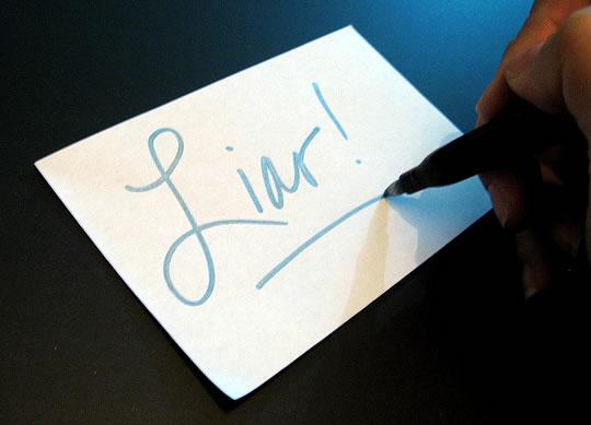 Lying: False Denials Are Harder to Remember Than False Descriptions post image