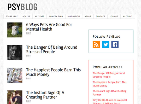 PsyBlog Introducing Subscriptions For Some New Content post image