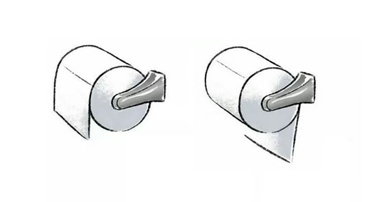 What Your Toilet Paper Reveals About Your Personality post image