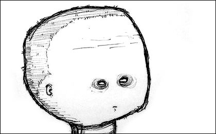 Worried Head